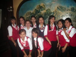 New Uniforms of Waitress in Swiss Chalet, Balibago